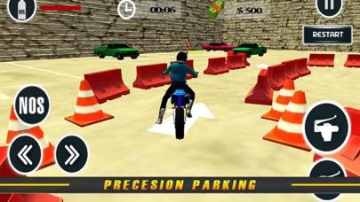 Heavy Bike Parking: Real Moto screenshot two