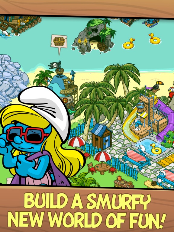Smurfs' Village Скриншоты7