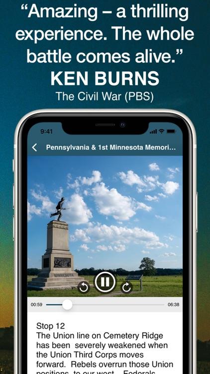 HereStory Gettysburg Auto Tour