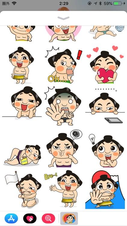 Sumo Wrestler Stickers