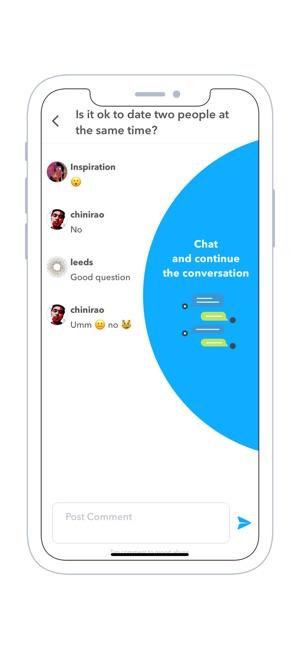 Collabs - Instant Q&A Screenshot