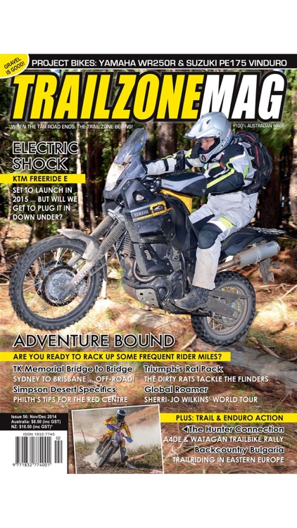 TrailZone Mag -When the tar road ends, the Trail Zone begins