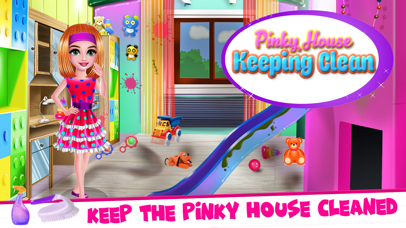 Pinky House Keeping Clean screenshot one