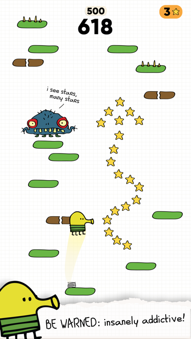 Doodle Jump 2 screenshot 1