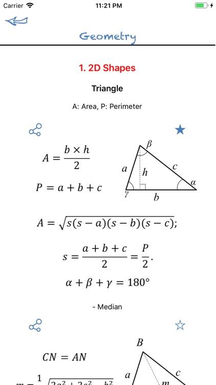 Math Formulas Basic