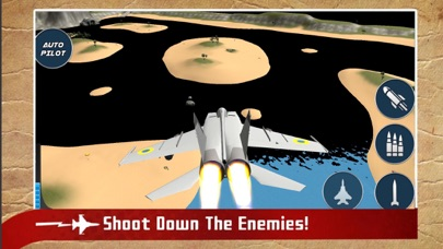 Real Jet Fighter: Sky Shooting screenshot three