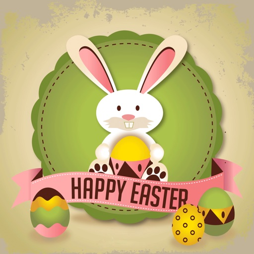 Happy Easter - Stickers