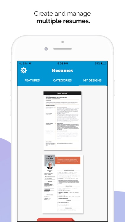 Quick Resume Builder, CV Maker screenshot-6