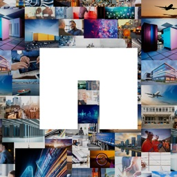 NetApp Data Driven – Photo Mosaic