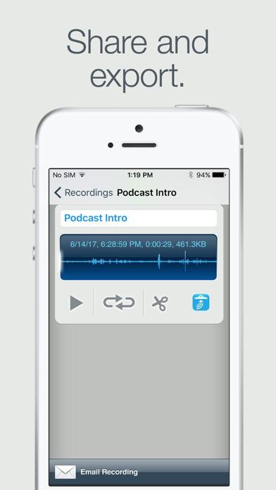 Screenshot for Recorder in Austria App Store
