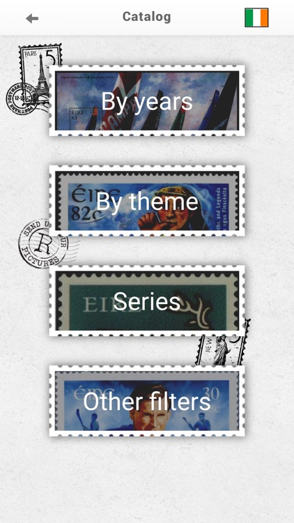 Stamps Ireland, Philately