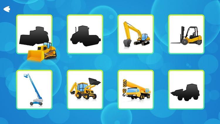 Trucks and Shadows Puzzles Games screenshot-0