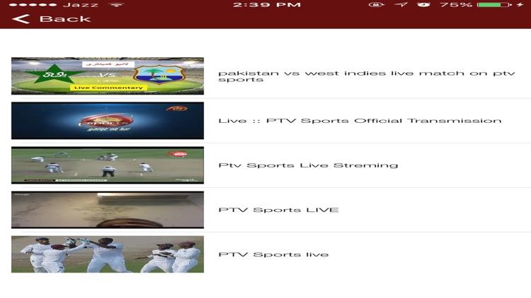 Cricket TV Live Streaming Matches screenshot-3