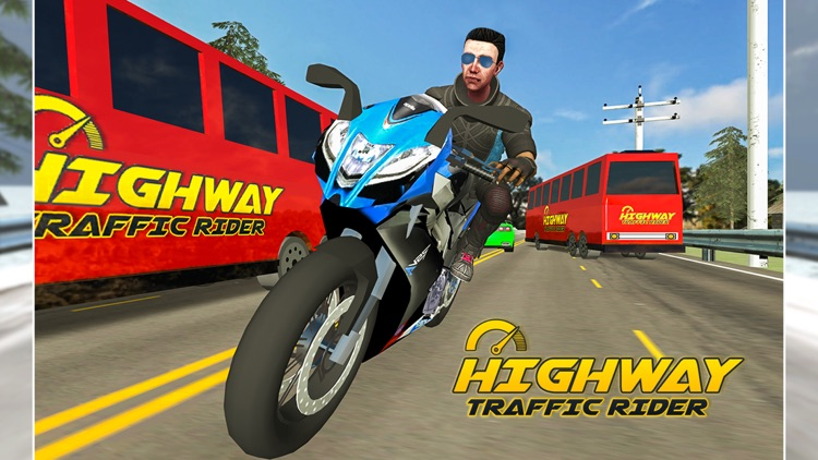 Highway Traffic Rider : Motorbike Rider screenshot-4