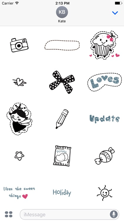 Comic Talk Stickers Pack 04 screenshot-0