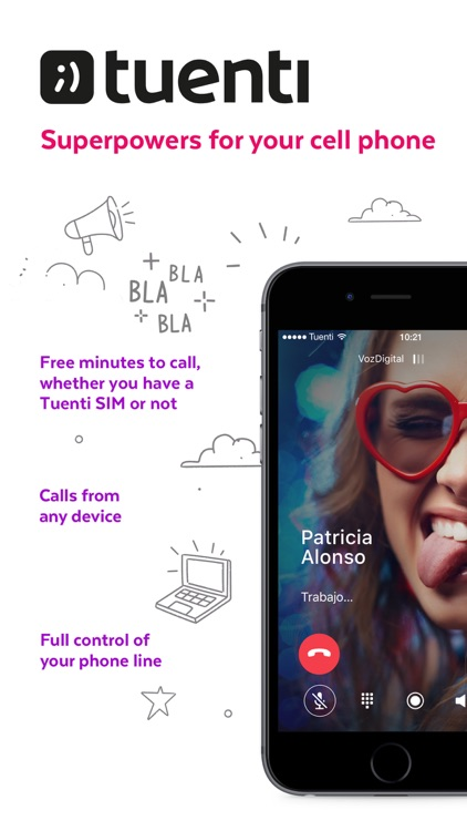Tuenti: Superpowers for your cell phone screenshot-0