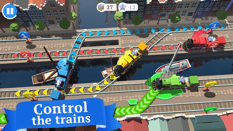 Train Conductor World - Rail Tycoon Game screenshot-0