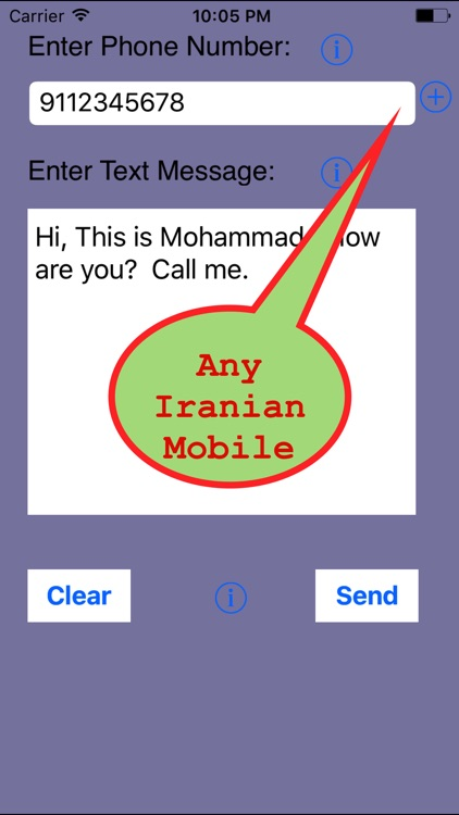 SMS Iran-Send Unlimited SMS to Iran Without Number