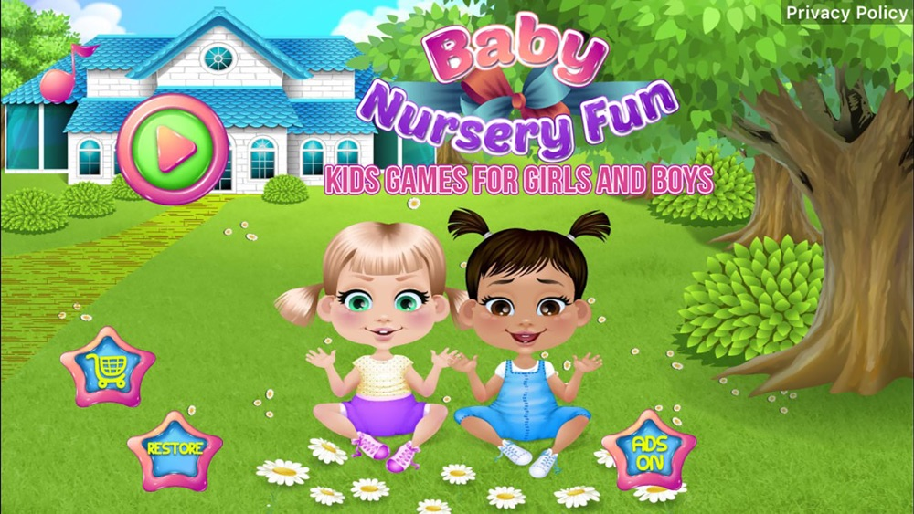 Baby Nursery Fun – Kids Games for Girls and Boys