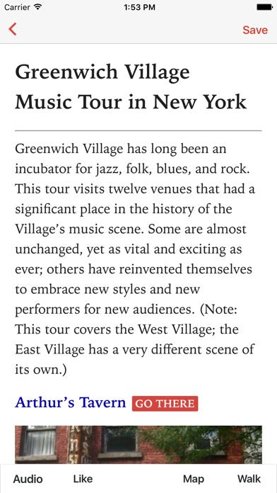 Greenwich Village Music, NYC screenshot one