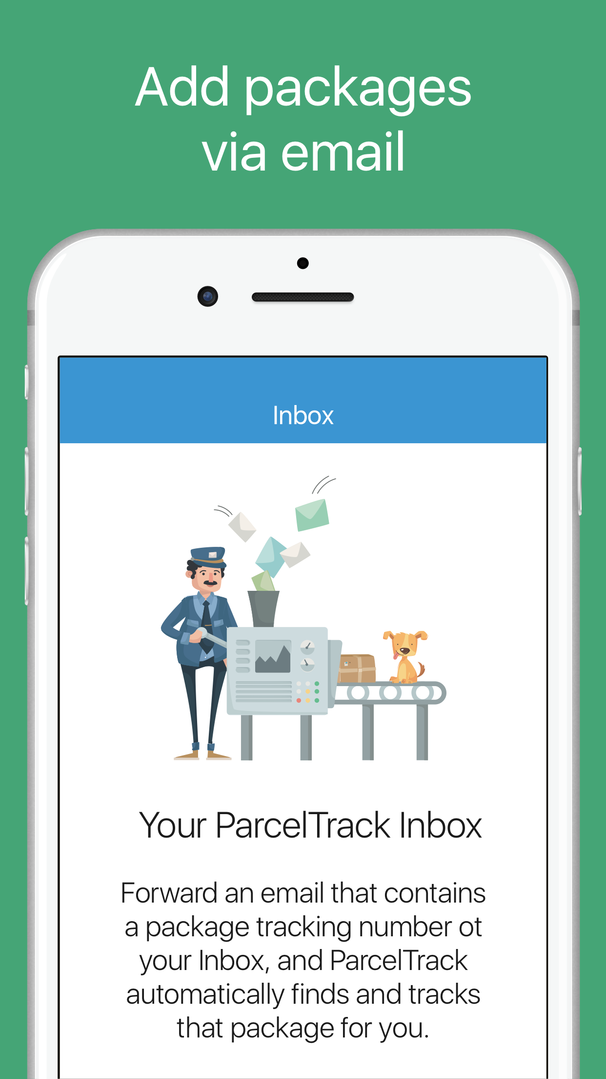 ParcelTrack - Package Tracker Screenshot