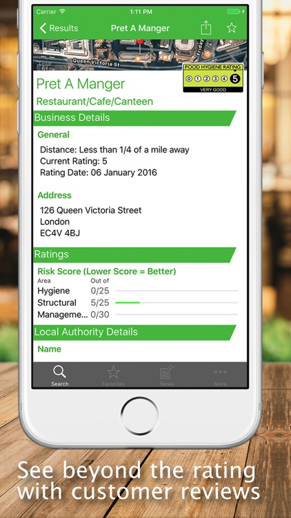 UK Food Hygiene Ratings screenshot-4