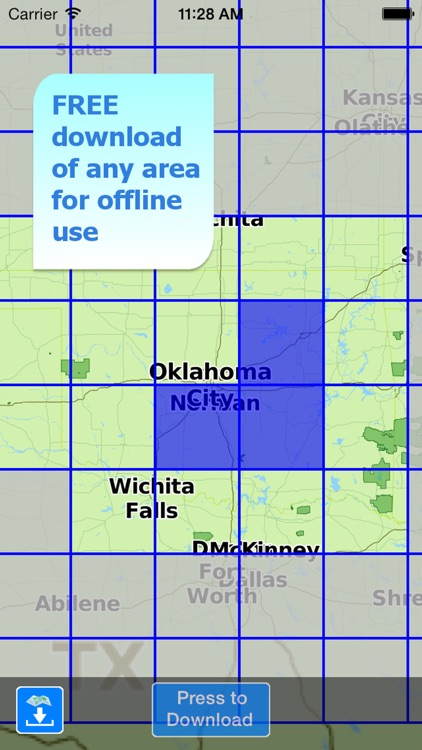 Aqua Map Oklahoma OK Lakes - GPS Nautical Charts screenshot-4