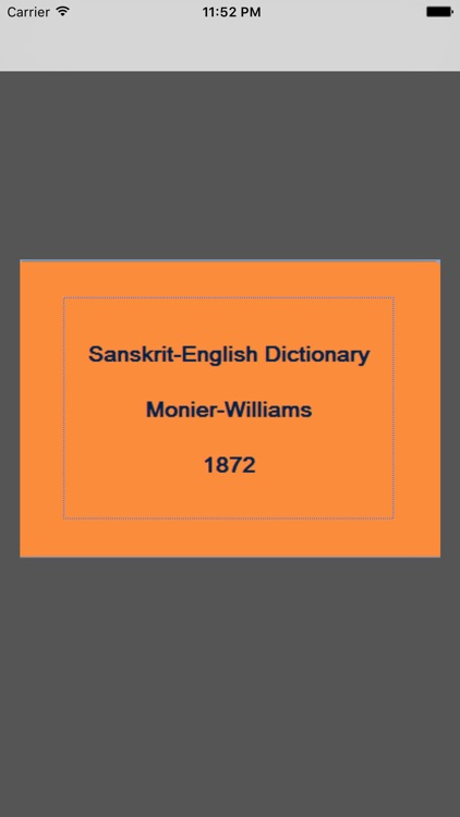 Sanskrit-English (Monier)