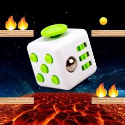 Lava Floor - The Floor is Lava Jumpy Fidget Cube