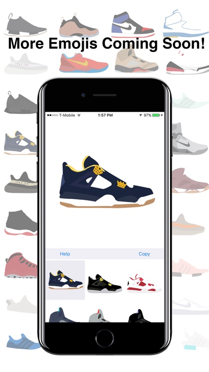 ShoeMoji - Sneaker Emojis screenshot-4