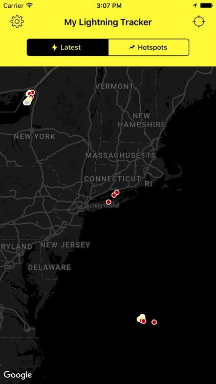 My Lightning Tracker Pro - Live Thunderstorm Map screenshot-3