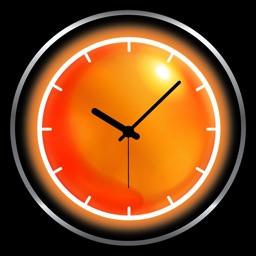 Weather clock widget