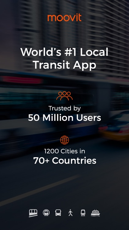Moovit: Live Transit App For Bus, Train & Subway app image