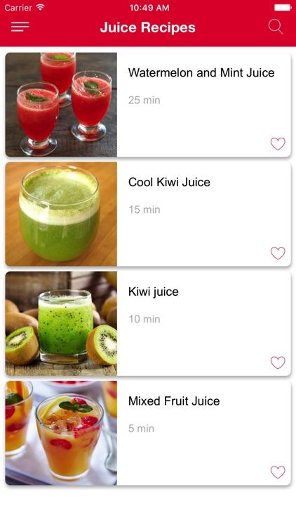 Fresh Juice Recipe