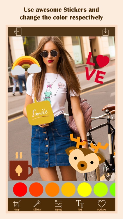 Photo Editor - Filters, Stickers, Text screenshot-4