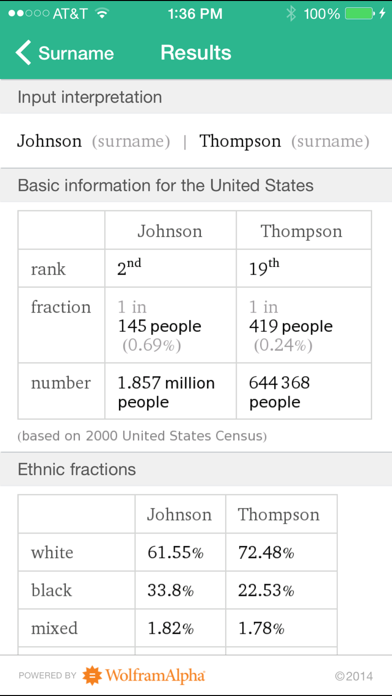Wolfram Genealogy & History Research Assistant screenshot four