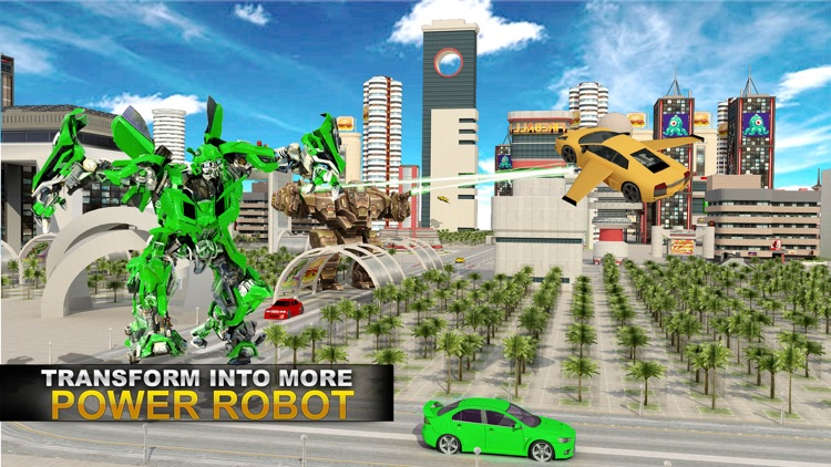 Real Robot Fighting VS Flying Car Games screenshot-2