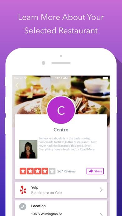 food genie where to eat review screenshots
