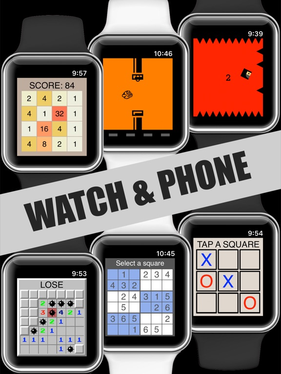 17 Mini Games For Watch & Phone screenshot 5