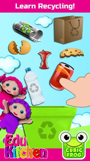 Ipad Games For Toddlers >> Toddlers Food Games Edukitchen On The App Store