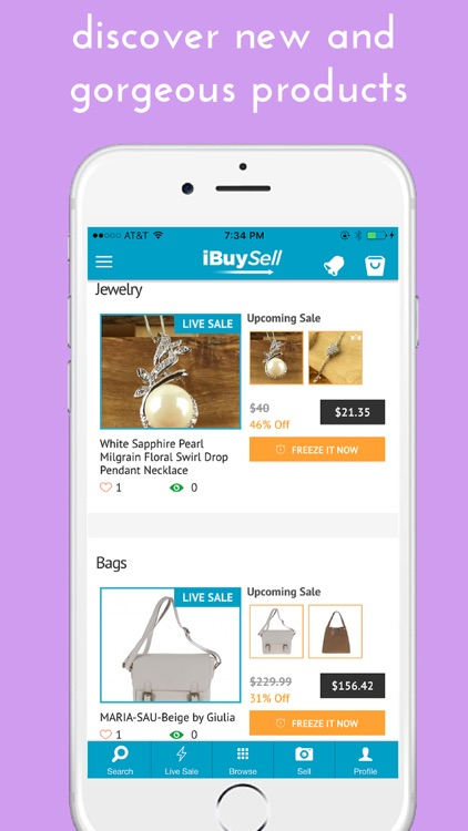 iBuySell- Online Shopping. Buy and Sell Live Deals