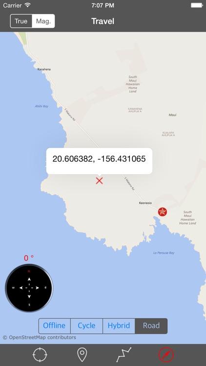MAUI – GPS Travel Map Offline Navigator screenshot-4