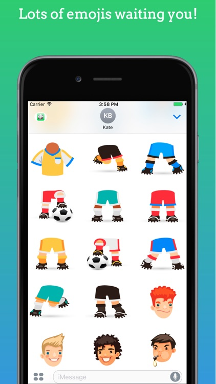 FootMoji PRO - Soccer Emoji & Stickers screenshot-3