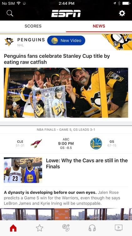 ESPN: Watch Live Sports and Scores screenshot-4