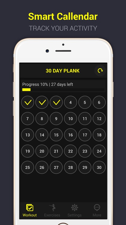 30 Days Plank Challenge Pro screenshot-1