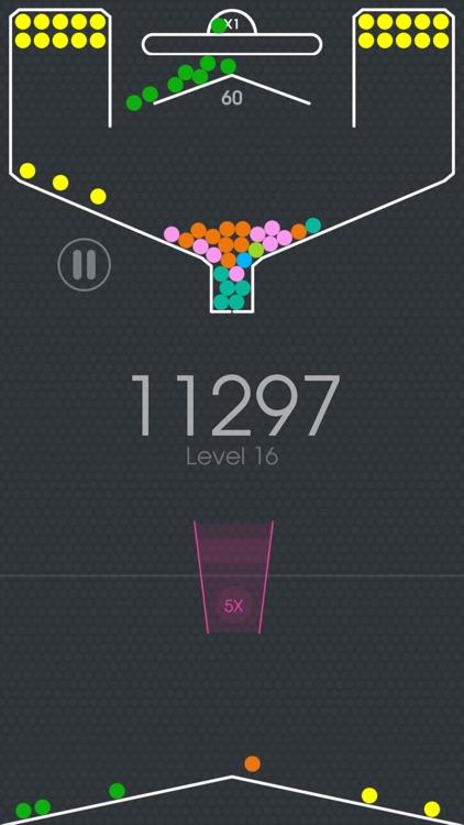 100 Balls - Tap to Drop in Cup screenshot-4