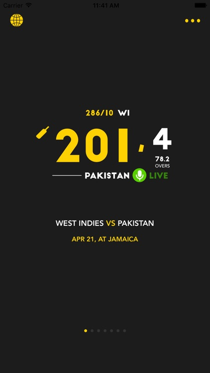 Cricket Live Scores for iPhone