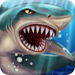 SHARK WORLD: Sharks & Jurassic animal battle games