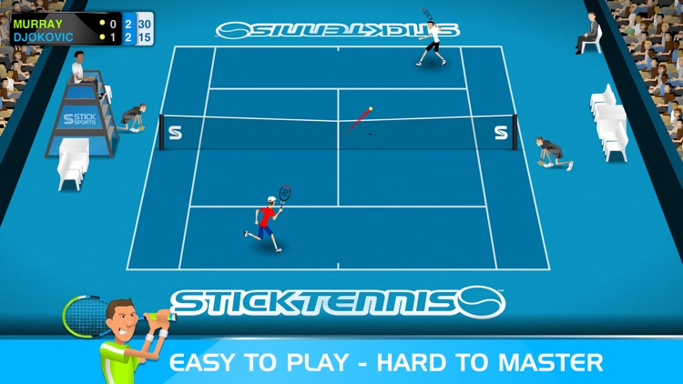Stick Tennis screenshot-0