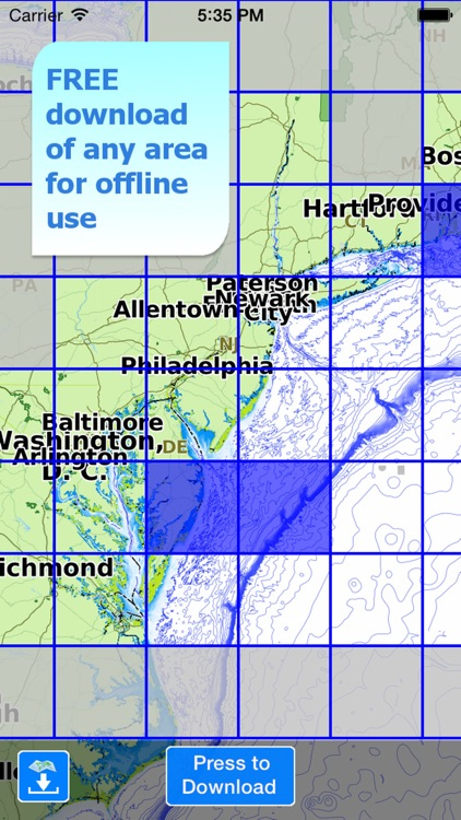 Aqua Map MidAtlantic - Cape Cod to Chesapeake screenshot-4